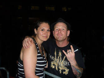 with Corey Taylor by anushkacz