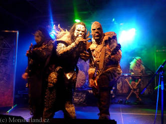 Lordi live in Prague 2013 by anushkacz