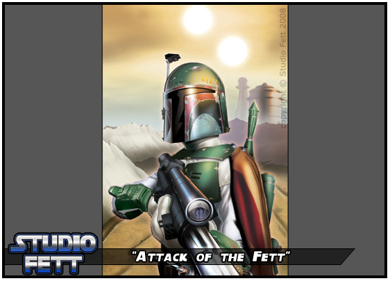 Attack of the Fett by Studio-Fett