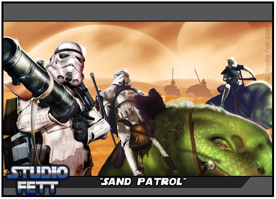 Sand Patrol by Studio-Fett