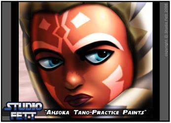 Ahsoka Tano-Practice Paints