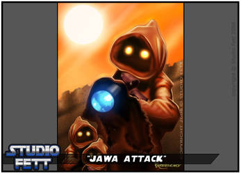 Jawa Attack-Practice Paints