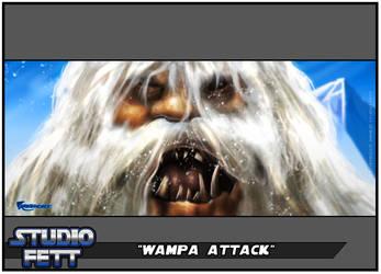 Wampa Attack-Practice Paints