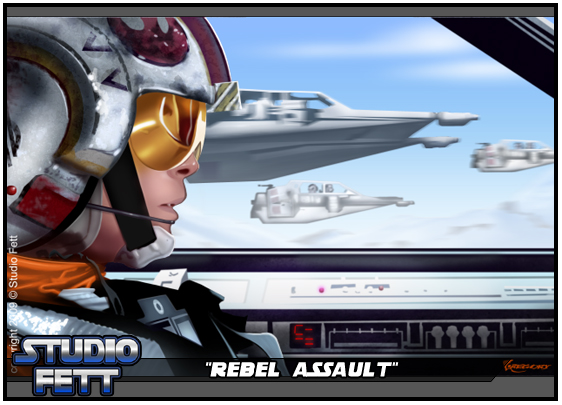 Rebel Assault-Painting by Studio-Fett
