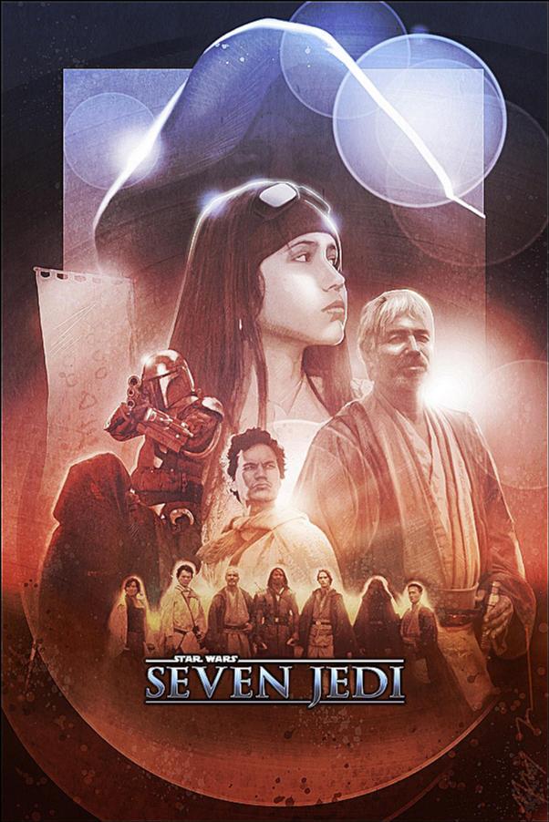 Seven Jedi Movie Poster