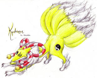Kyubimon by Stormityne