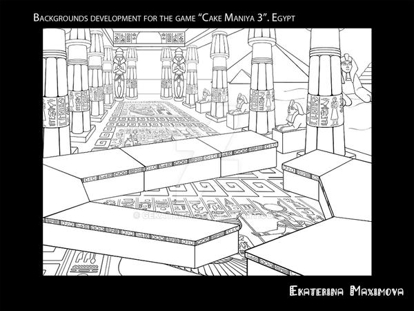 BG design for the CCM2 Project by gekatarina