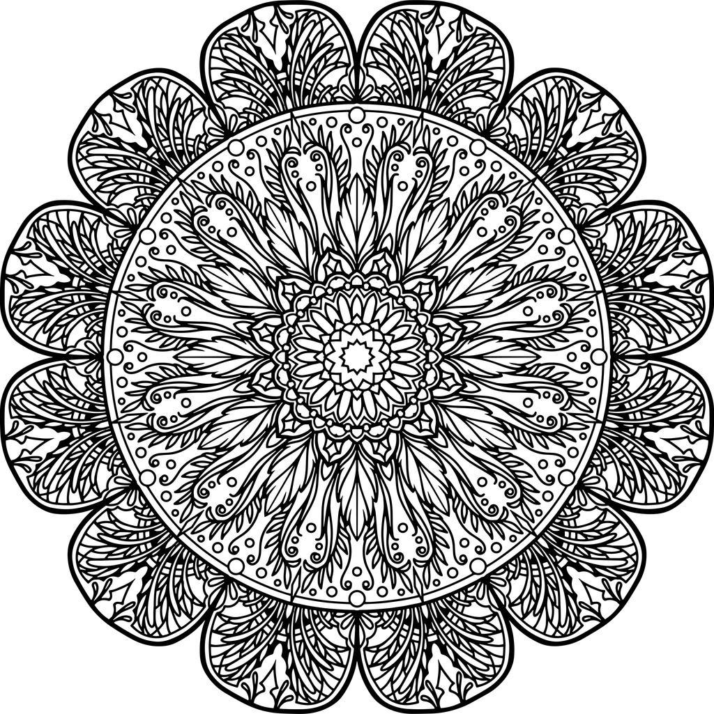 Mandala12 by gekatarina