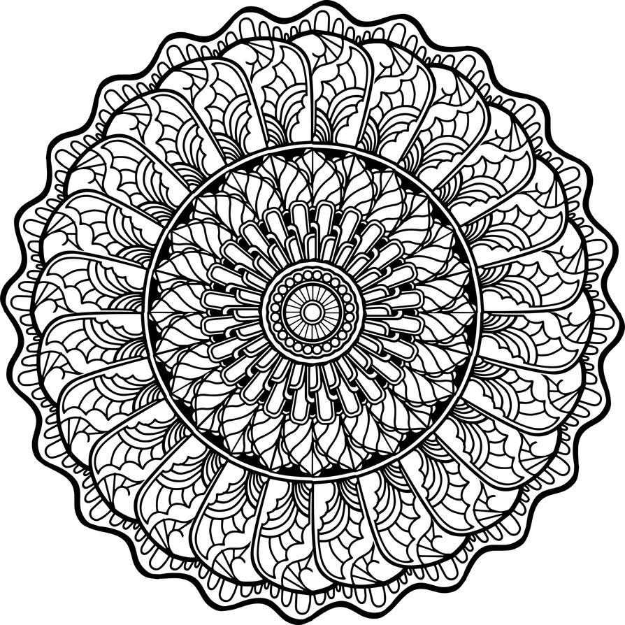 Mandala8 by gekatarina