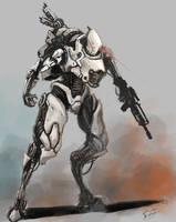 Mech concept art by FonteArt