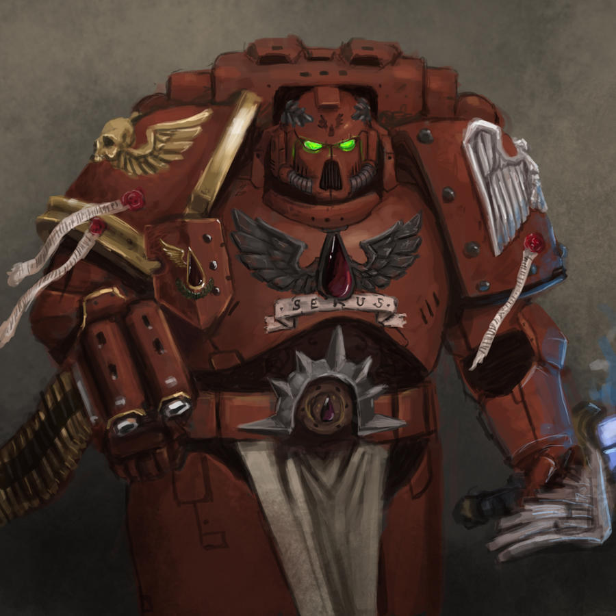 [W40K] Collection d'images : Space Marines Blood_angels_captain_by_fonteart-d4kqm3s