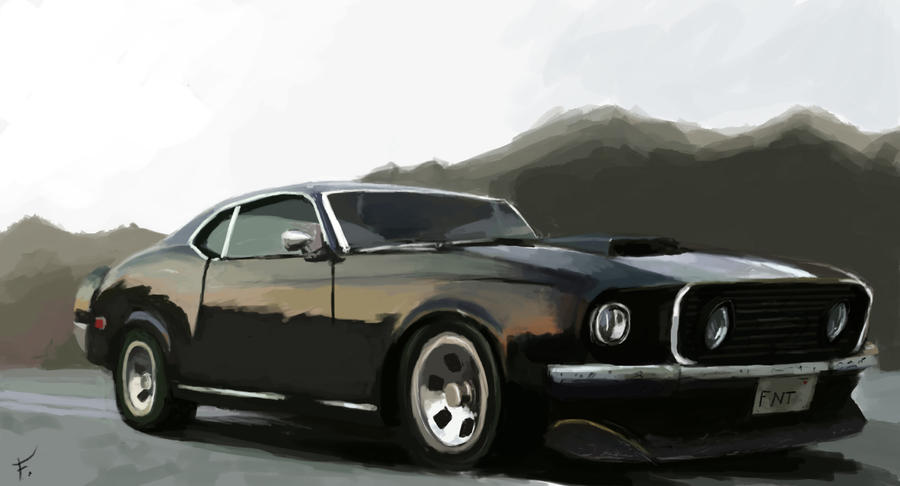 Ford Mustang Shelby 67 By Fonteart On Deviantart