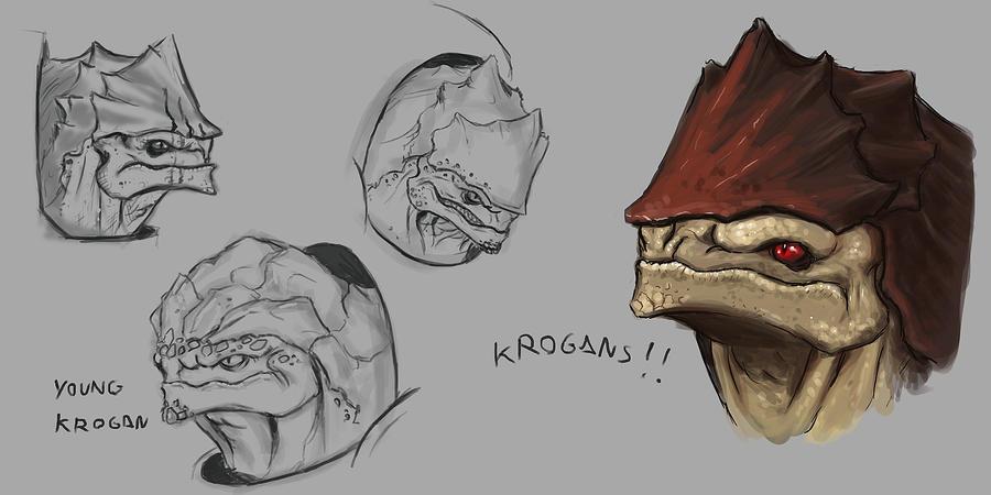 Krogan concept art