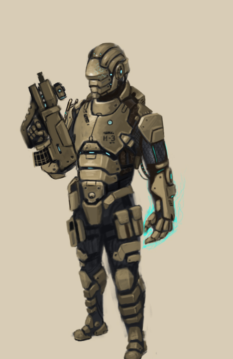 High tech Soldier by FonteArt