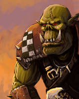 Ork speed painting by FonteArt