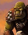 Ork speed painting