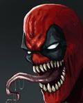 Deadpool venom - speed paint