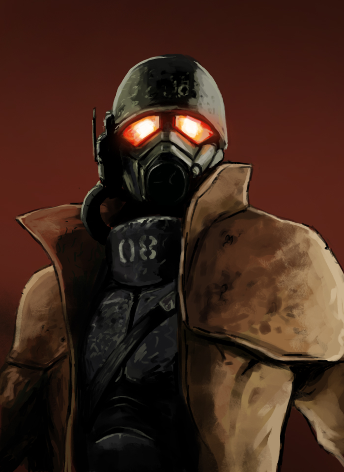 Image result for ncr soldier new vegas portrait