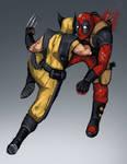 Deadpool vs Wolverine