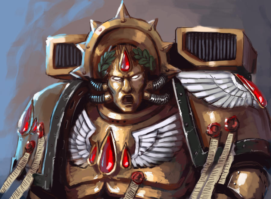 [W40K] Collection d'images : Space Marines Blood_angels___dante_by_fonteart-d5p47l5