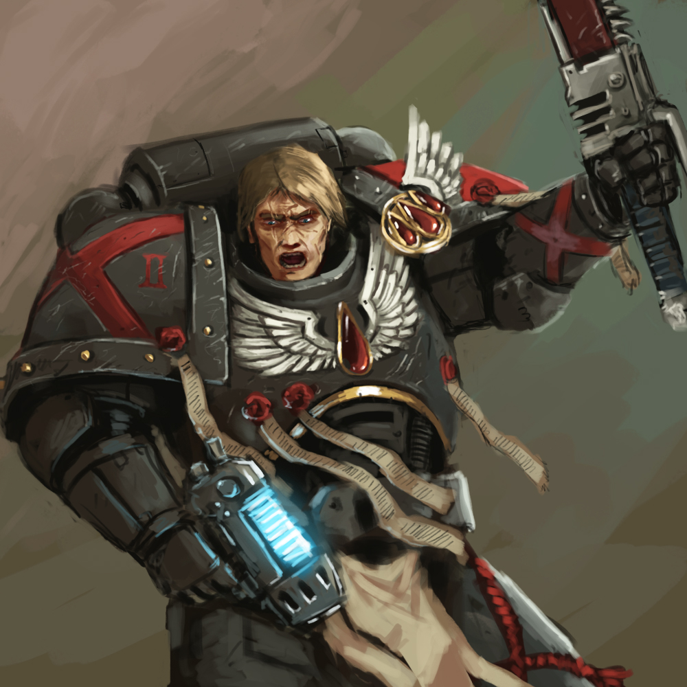 Death Company Space Marine by FonteArt