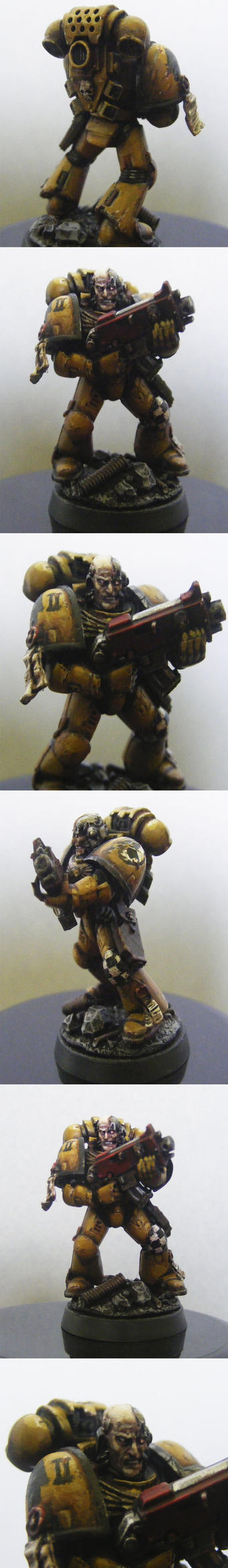 Imperial Fist (miniature) by FonteArt