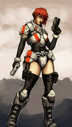 Sci- fi character