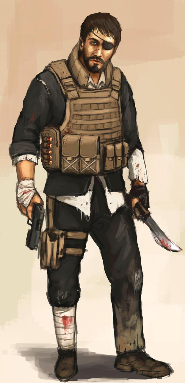 Zombie Apocalypse Survivor Costume