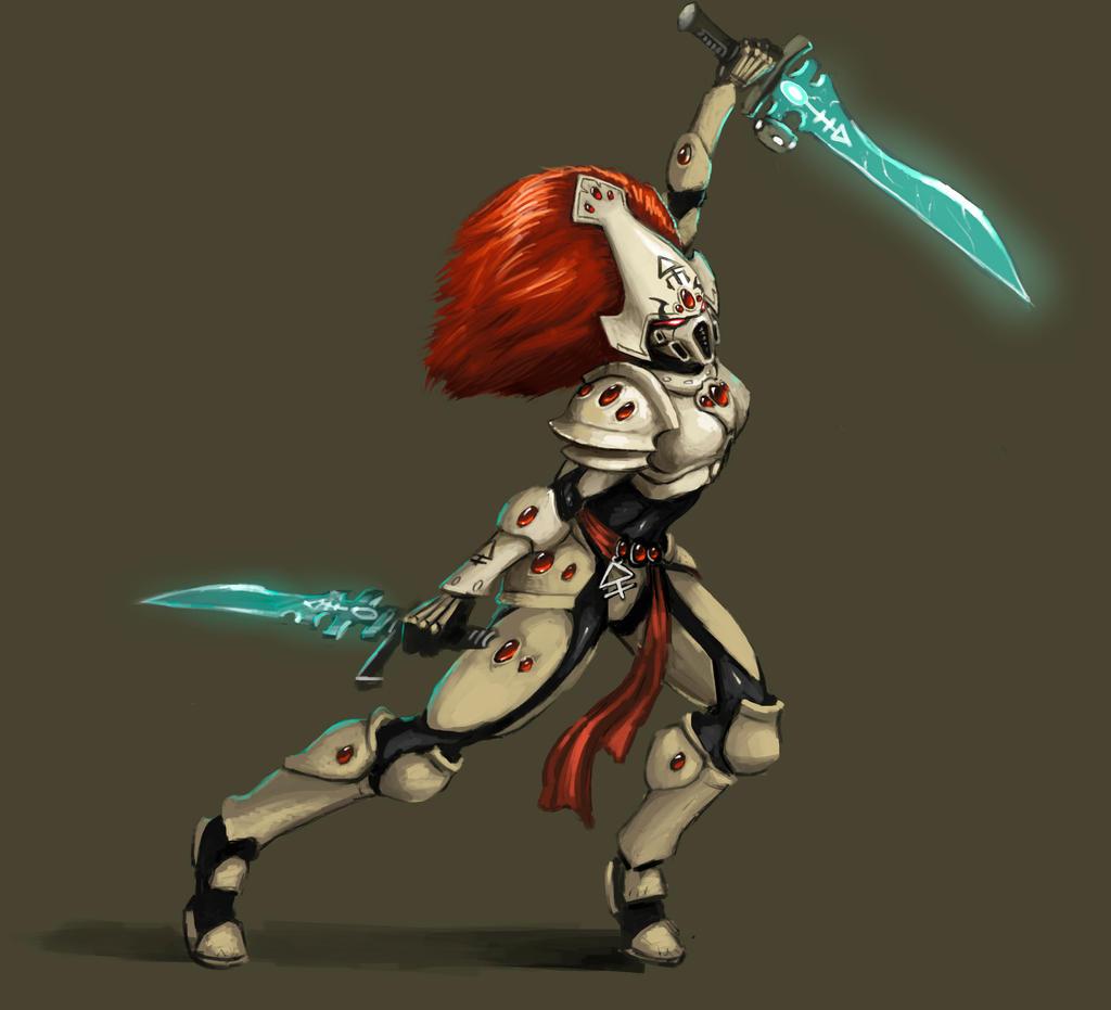 Sword-Singer Arkila  Howling_banshee_by_fonteart-d675rko