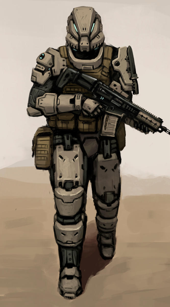 Spec Ops Commando by FonteArt