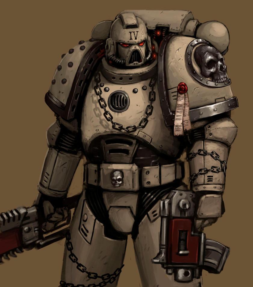 MOAR space marines! by FonteArt