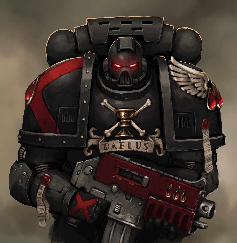 Warhammer 40k death company wallpaper - By Fonteart
