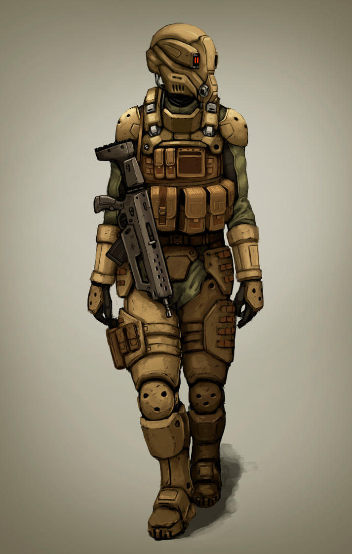 Future Soldier by FonteArt