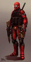 Deadpool 2030 by FonteArt