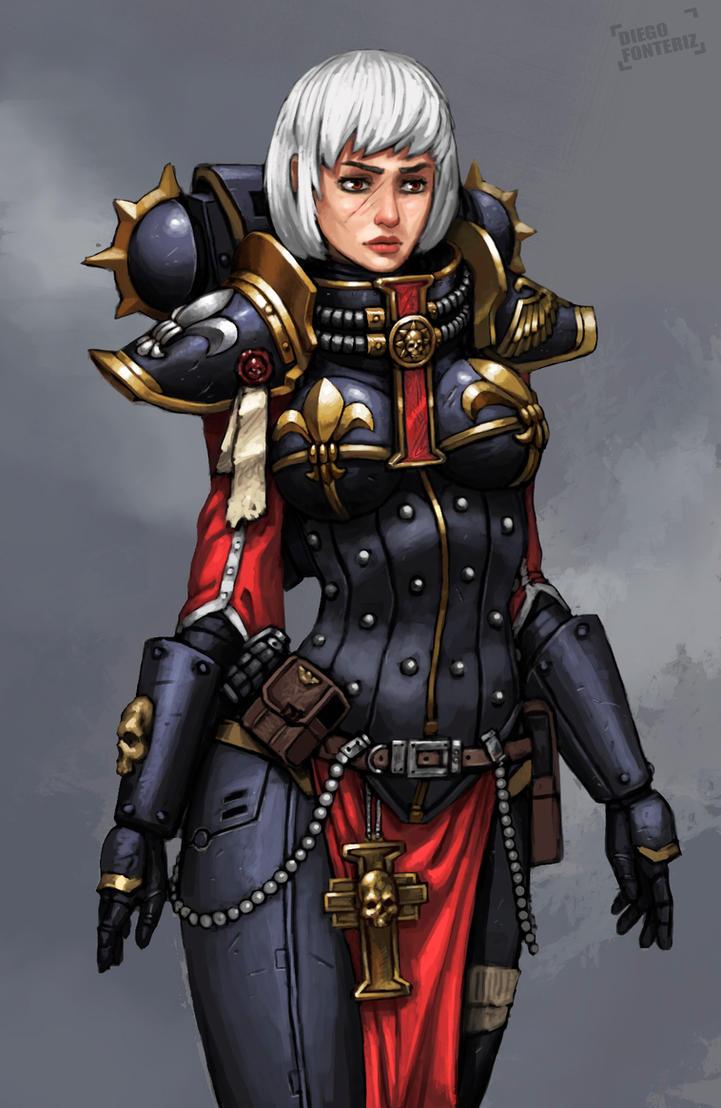 Sister of Battle by FonteArt