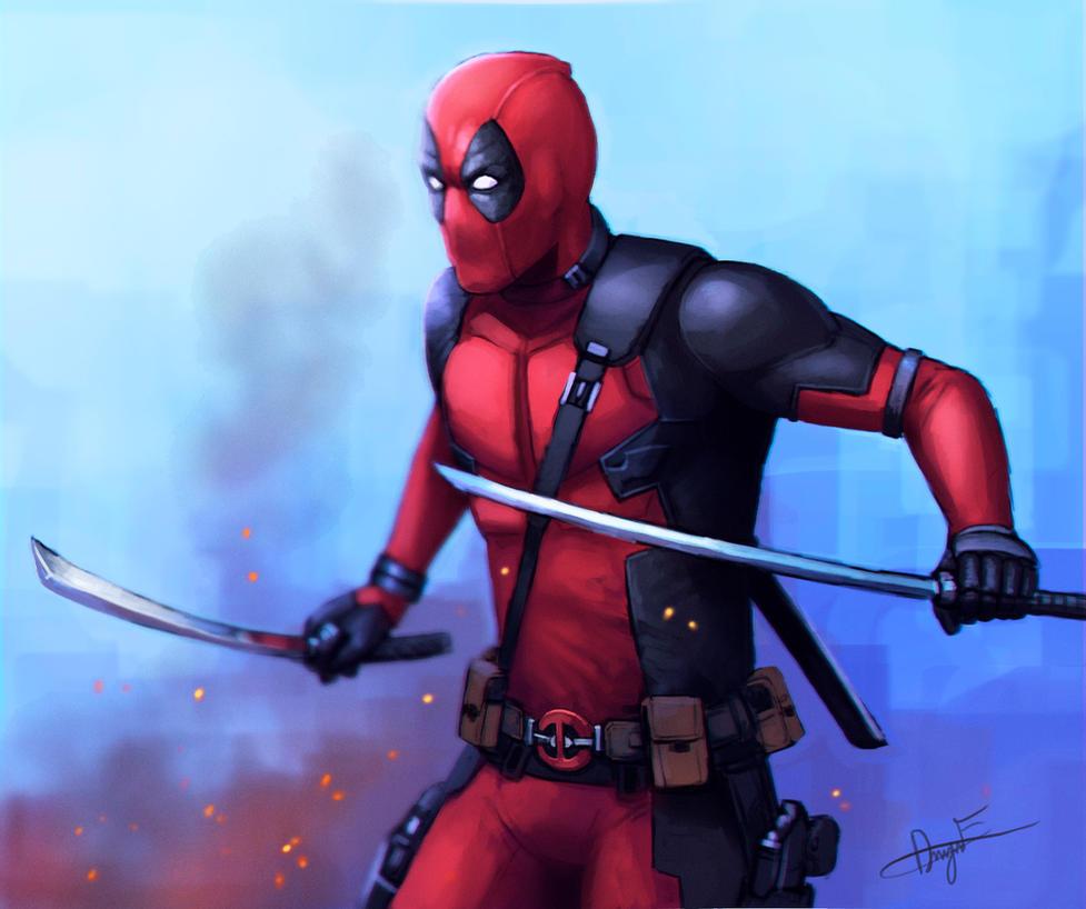 Movie Deadpool by FonteArt