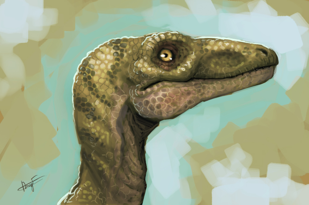 Dino speed painting by FonteArt