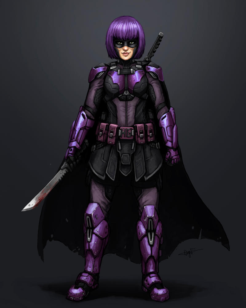 Hit-Girl redesign by FonteArt