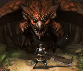 Monster Hunter: Rathalos Vs Hunter