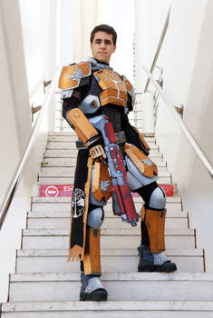 Destiny Cosplay - Iron Banner Titan