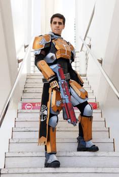 Destiny Cosplay - Iron Banner Titan