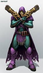 Overwatch: Reaper Skin Idea - Skeletor by FonteArt