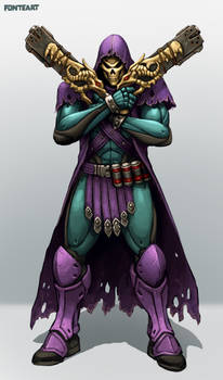 Overwatch: Reaper Skin Idea - Skeletor
