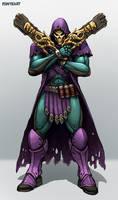 Overwatch: Reaper Skin Idea - Skeletor