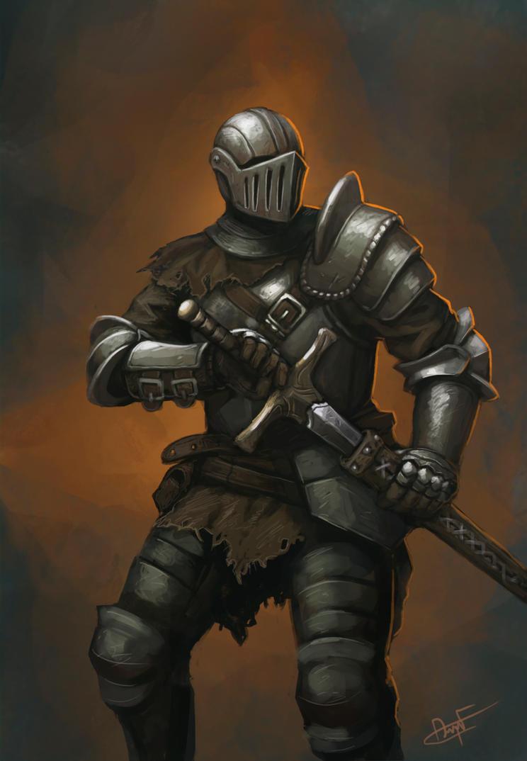 Knight by FonteArt