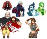 Overwatch Doodles