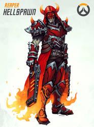 Overwatch - Hellspawn Reaper by FonteArt