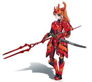 Future Samurai 02 - Asuka Langley