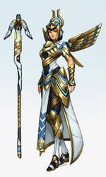 Overwatch fan-skin: Deity Mercy