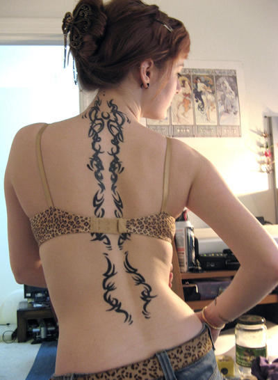 River-Run-tattoo-lady.jpg. Leopard gecko tattoo from clients own artwork